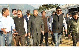 Jai Ram reviews preparations for Global Investors Meet