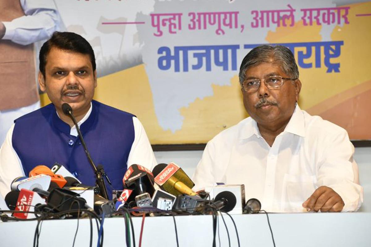 BJP, Maharashtra, Congress, NCP, Shiv Sena, Chandrakant Patil, Bhagat Singh Koshyari, Uddhav Thackeray, Devendra Fadnavis