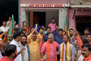 TMC slammed for silence on Ayodhya