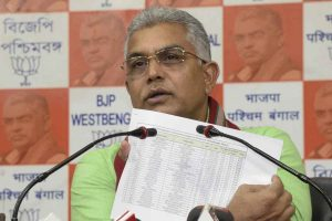 Mamata Banerjee indulging in cheap politics in tangling with Governor, says Dilip Ghosh