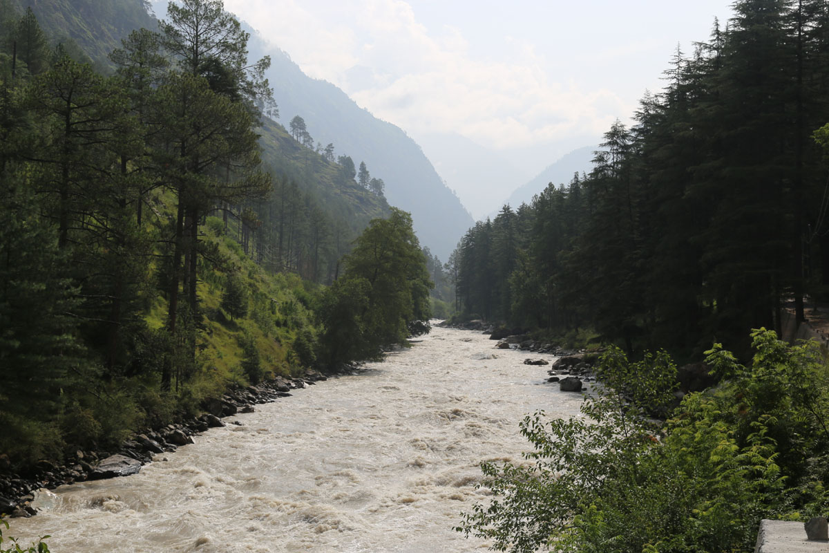 Floods, Shat, Parvati valley, Himachal Pradesh, Kullu, Monsoon, Himachal, Shimla