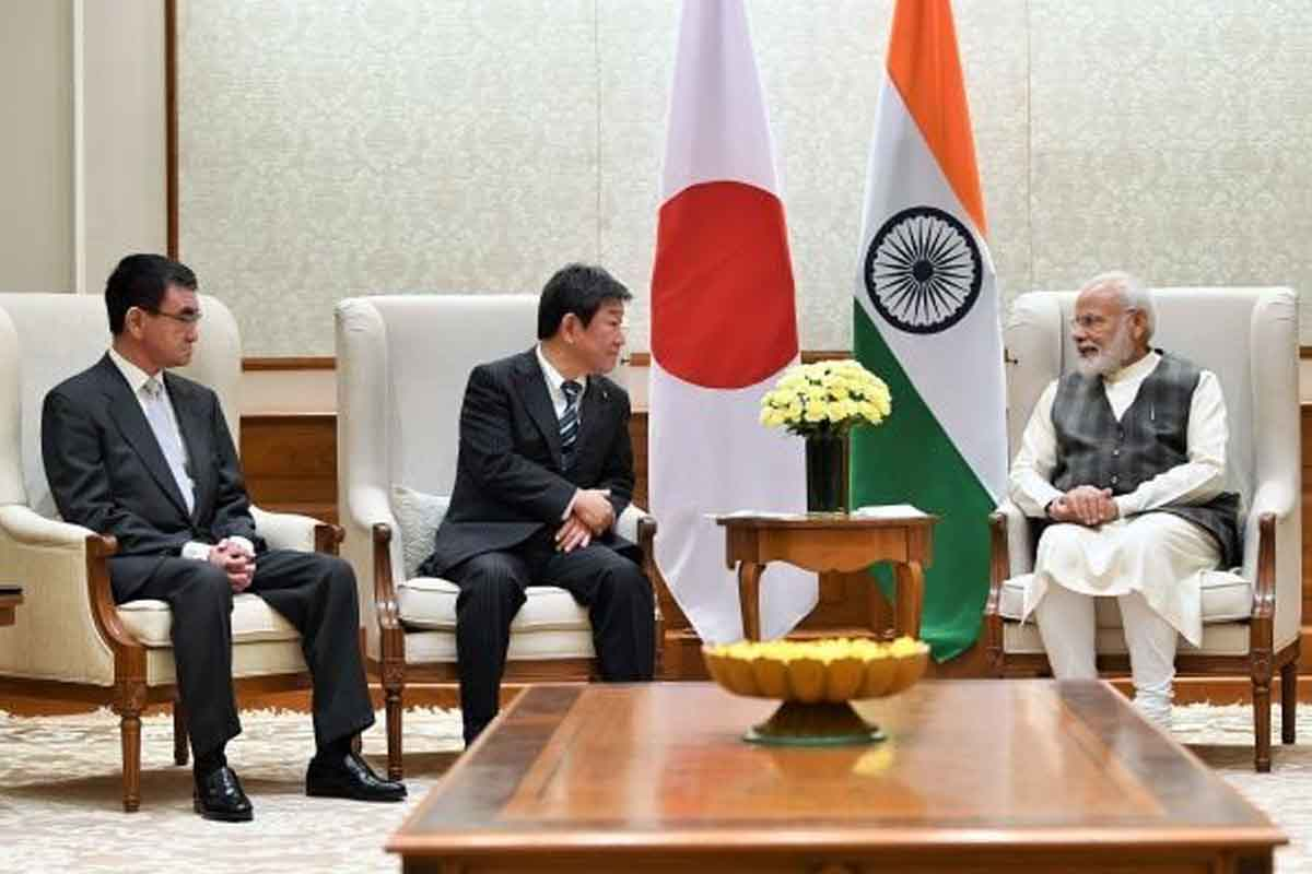 India, Japan, 2+2 dialogue, China, Rajnath Singh, S Jaishankar, Toshimitsu Motegi, Taro Kono, Narendra Modi, Shinzo Abe, Act East Policy, Guwahati, Delhi, Imphal, Manipur