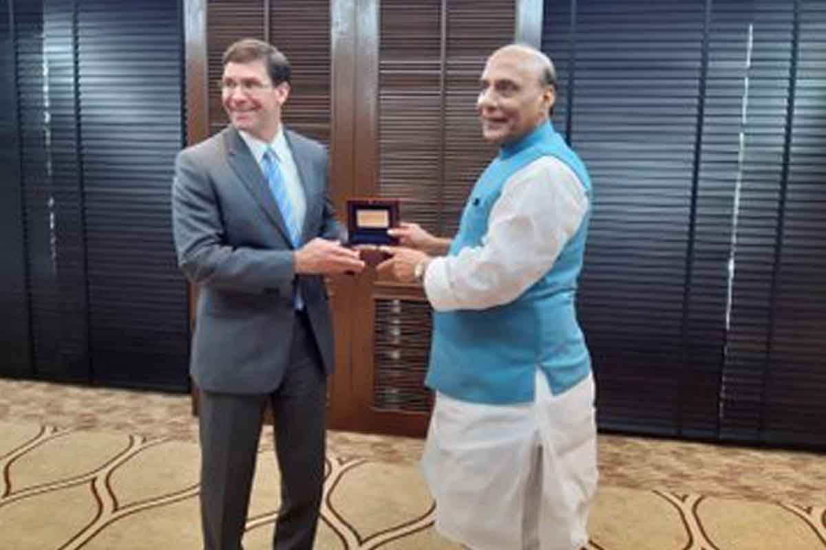 India, US, 2+2 dialogue, Washington, Rajnath Singh, Mark T Esper, ASEAN, Bangkok