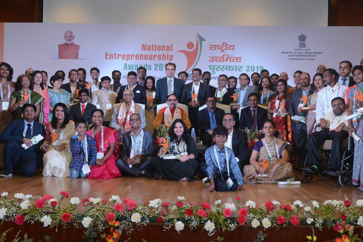 Young entrepreneurs, National Entrepreneurship Awards (NEA) 2019, Ministry of Skill Development and Entrepreneurship, MSDE