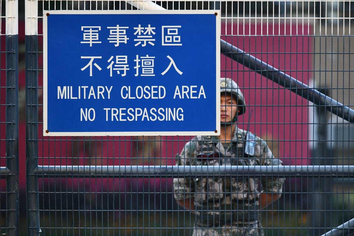 PLA, Hong Kong, China