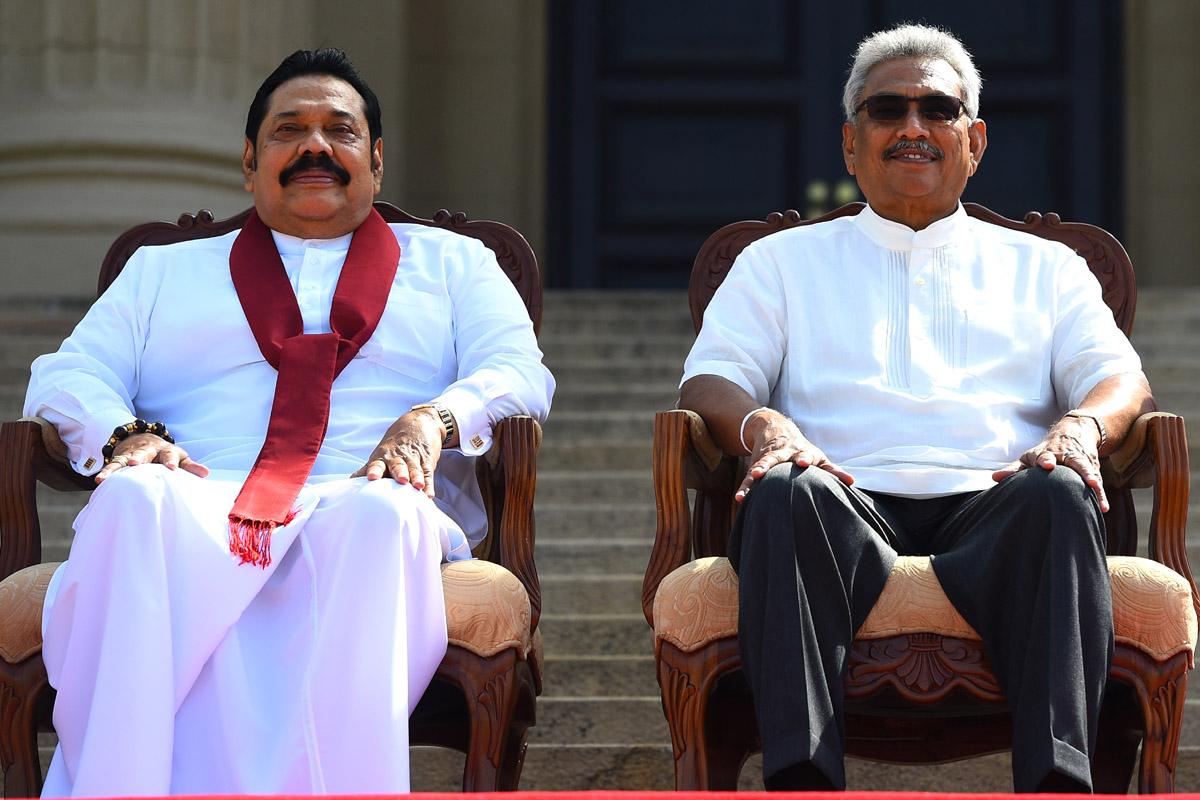 Tango, Sri Lanka, Mahinda Rajapaksa, Ranil Wickremesinghe