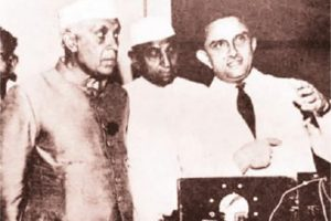 Nehru's contribution to India's scientific growth
