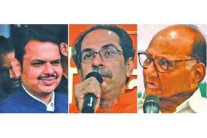 Pawar behind resurgent Uddhav