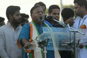 Dhankhar trying to act like Opposition mouthpiece: Partha