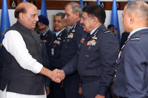 Defence Minister Rajnath Singh inaugurates Air Force Commanders Conference