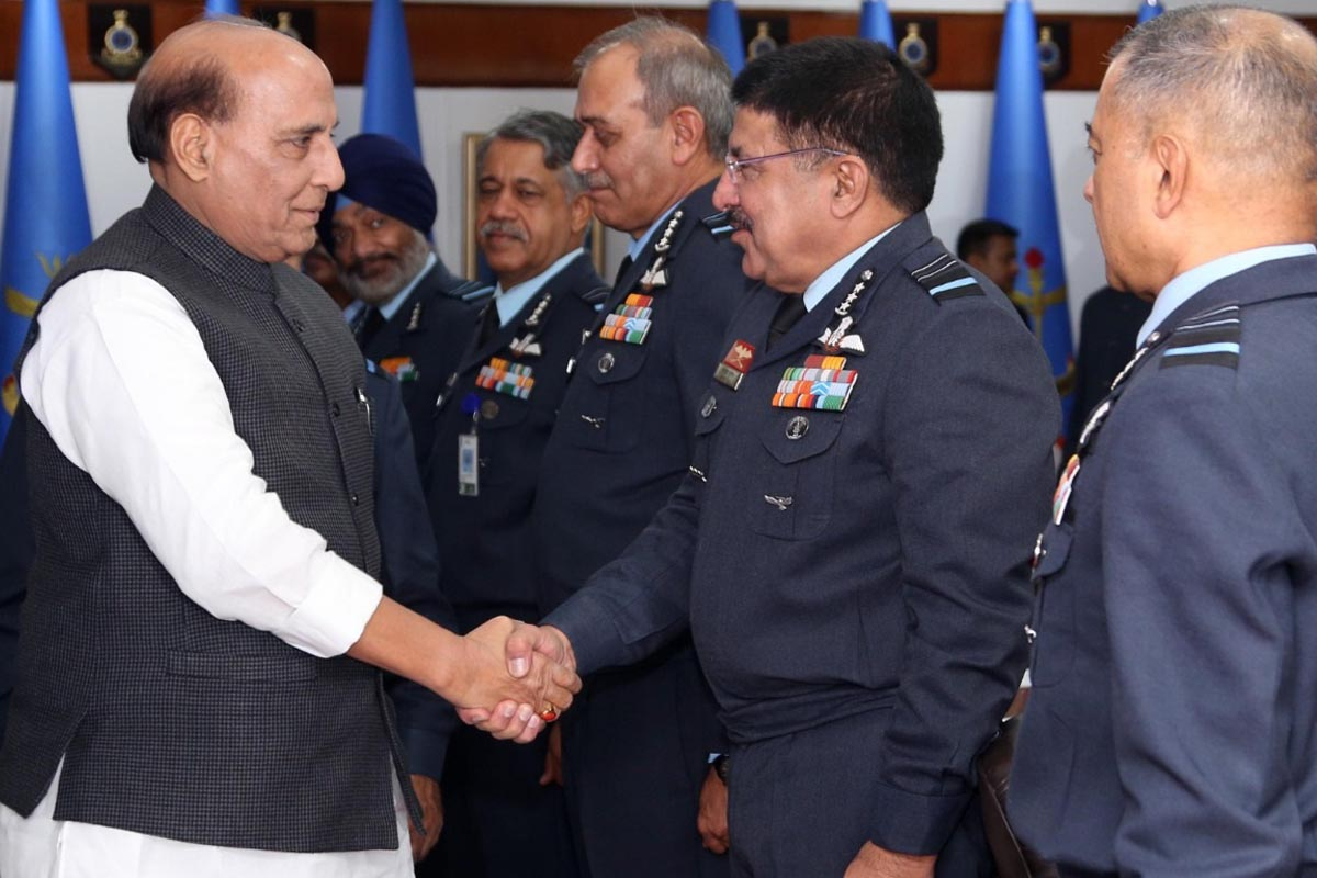 Rajnath Singh, Air Force Commanders Conference, IAF, Indian Air Force, Indian Army, Indian Navy