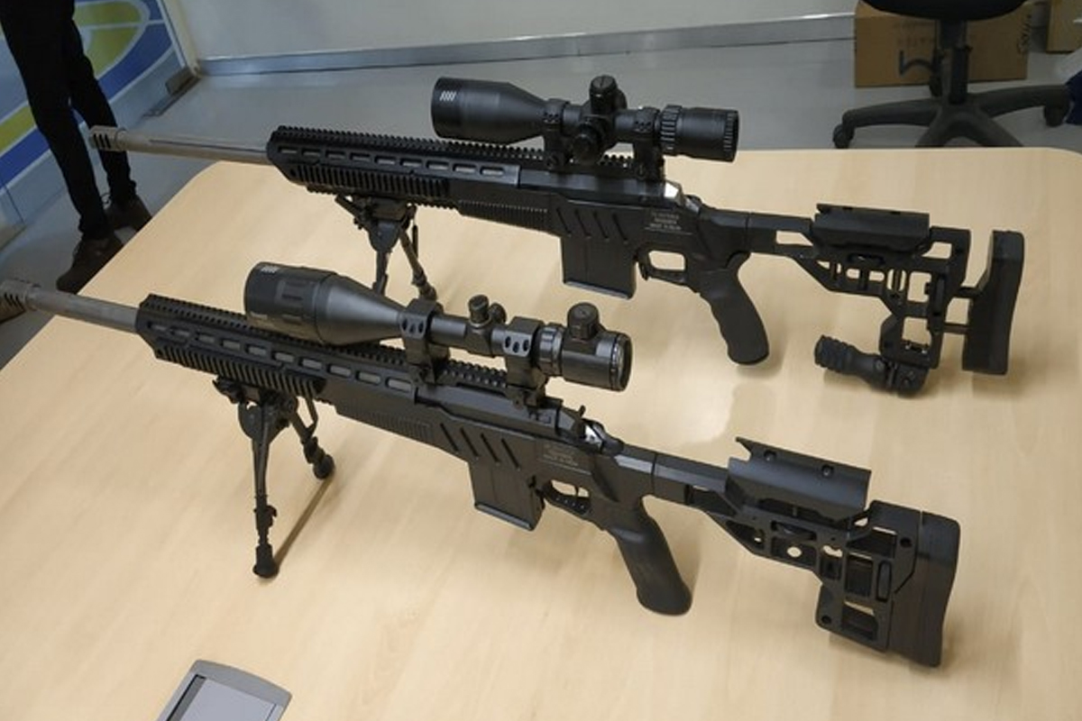 Sniper rifles, SSS Defence, Bangalore, Make in India