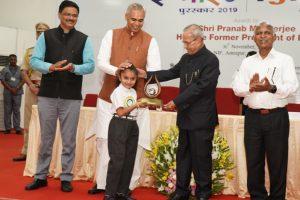 Innovations by creative children recognized during Dr APJ Abdul Kalam IGNITE Awards 2019
