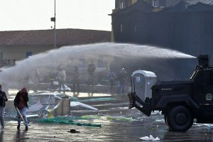 Water cannons to be used on roads to curb air pollution