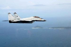 Navy's MiG-29 fighter jet crashes in Goa, pilots eject safely