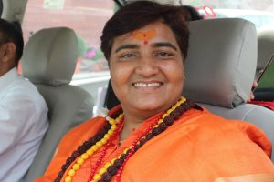 BJP MP Pragya Singh Thakur again calls Nathuram Godse patriot, this time in Parliament