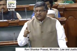 No plan to link Aadhaar, social media accounts: Ravi Shankar Prasad