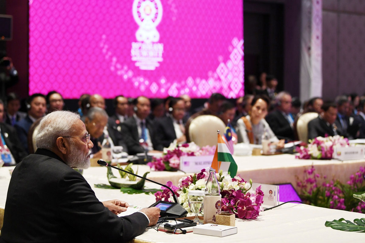 Narendra Modi, 16th India - ASEAN Summit, Bangkok, India, Act East Policy, Thailand, Vietnam
