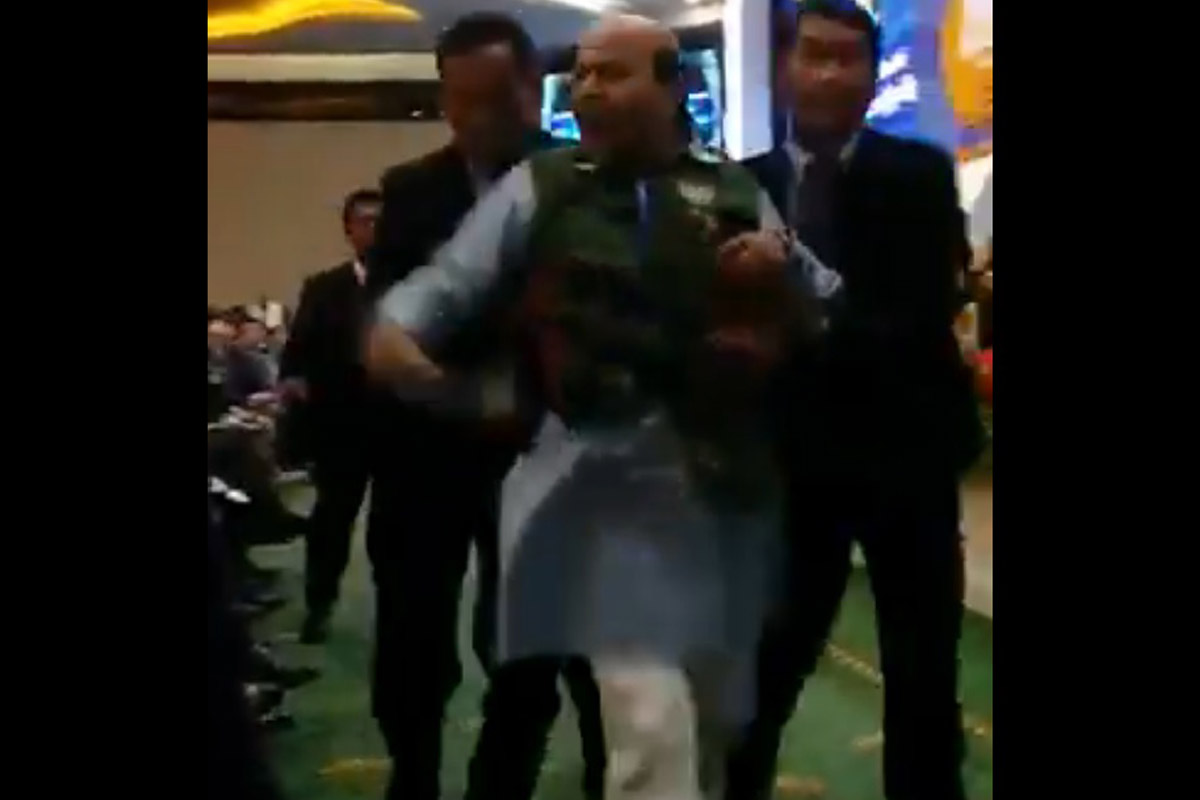BJP leader protests Pakistan delegate raising Kashmir at Asia-Pacific meet; thrown out