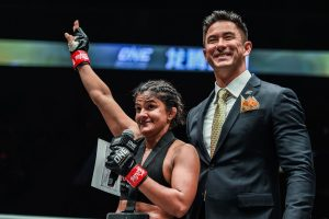 Ritu Phogat earns dominant victory on MMA debut