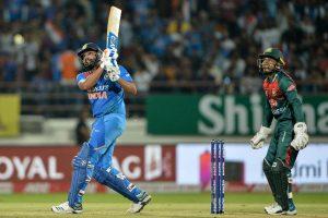 Rohit Sharma becomes first batsman to score 2500 T20I runs