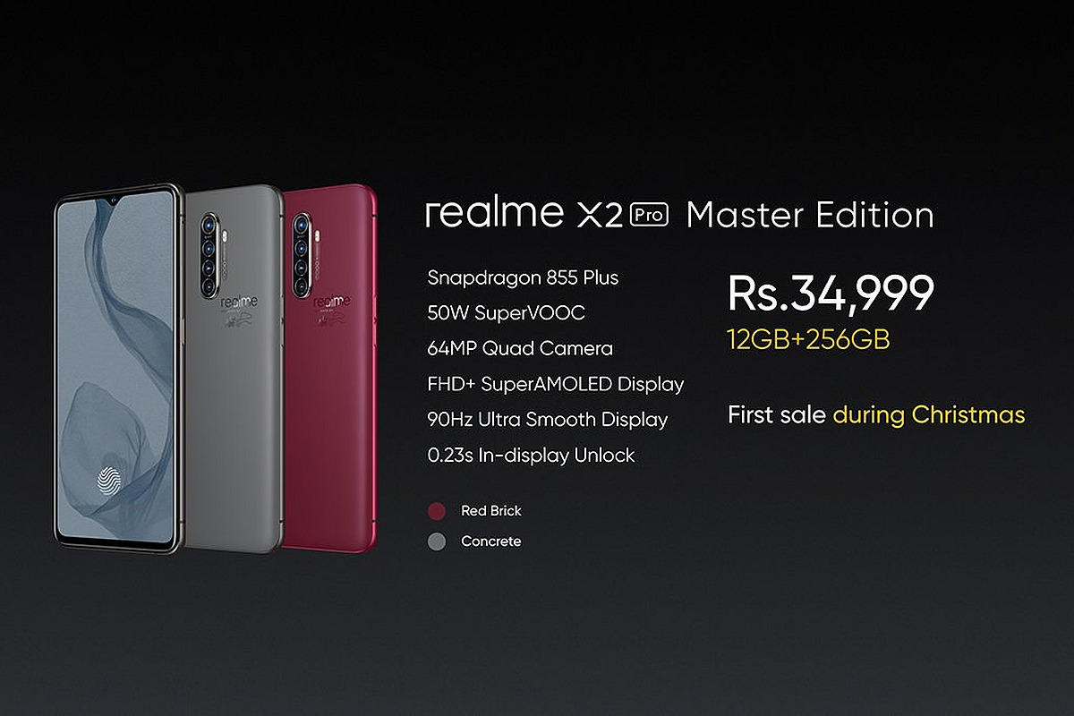 Realme X2 Pro, X2 Pro Master edition launched; Price, Spec and all that you need to know
