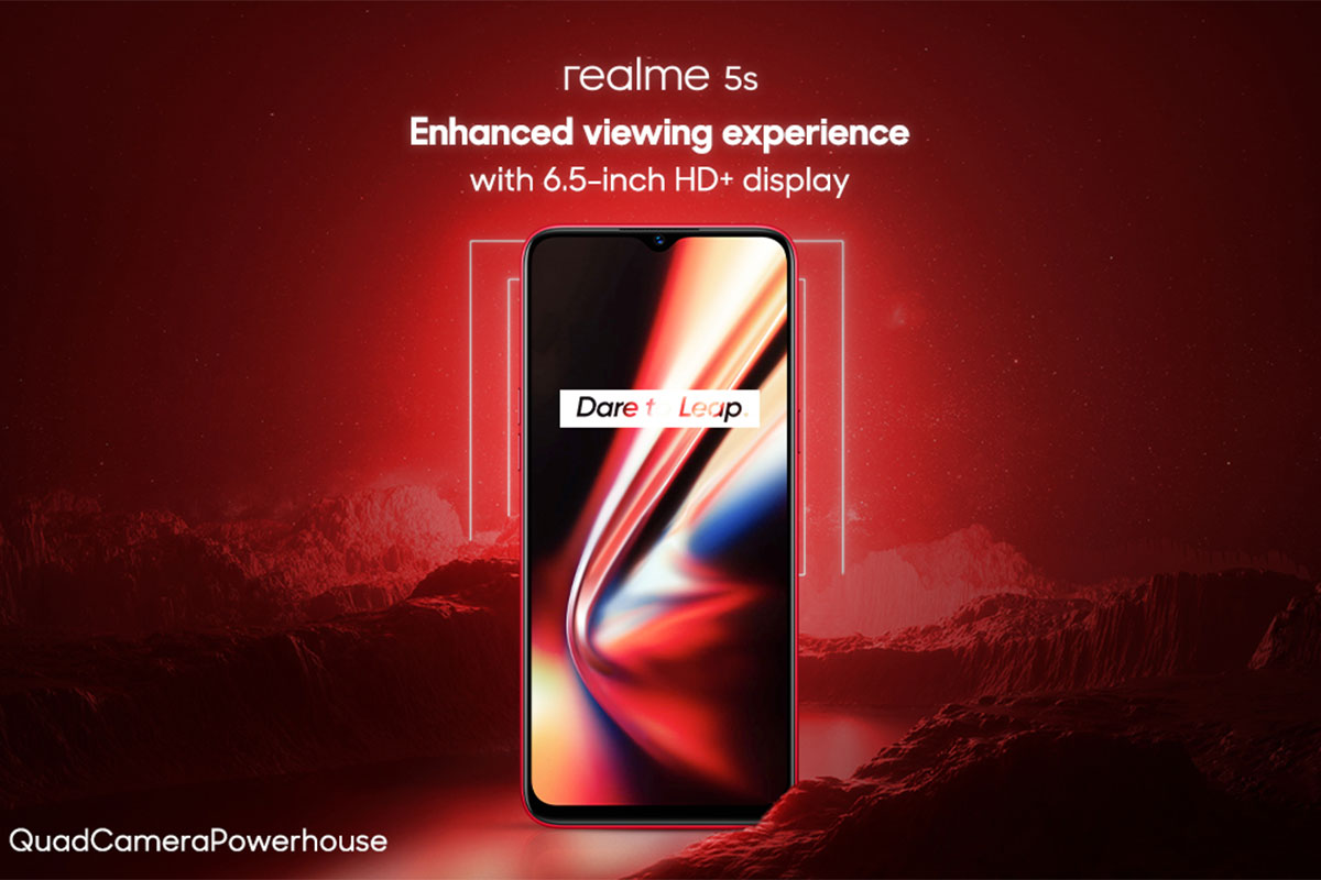 Realme 5s to be powered by the Snapdragon 665 SoC, reveals Flipkart