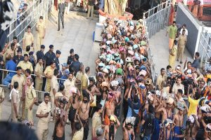 Sabarimala Temple: 12-year-old-girl stopped  from darshan, family asked to go without her