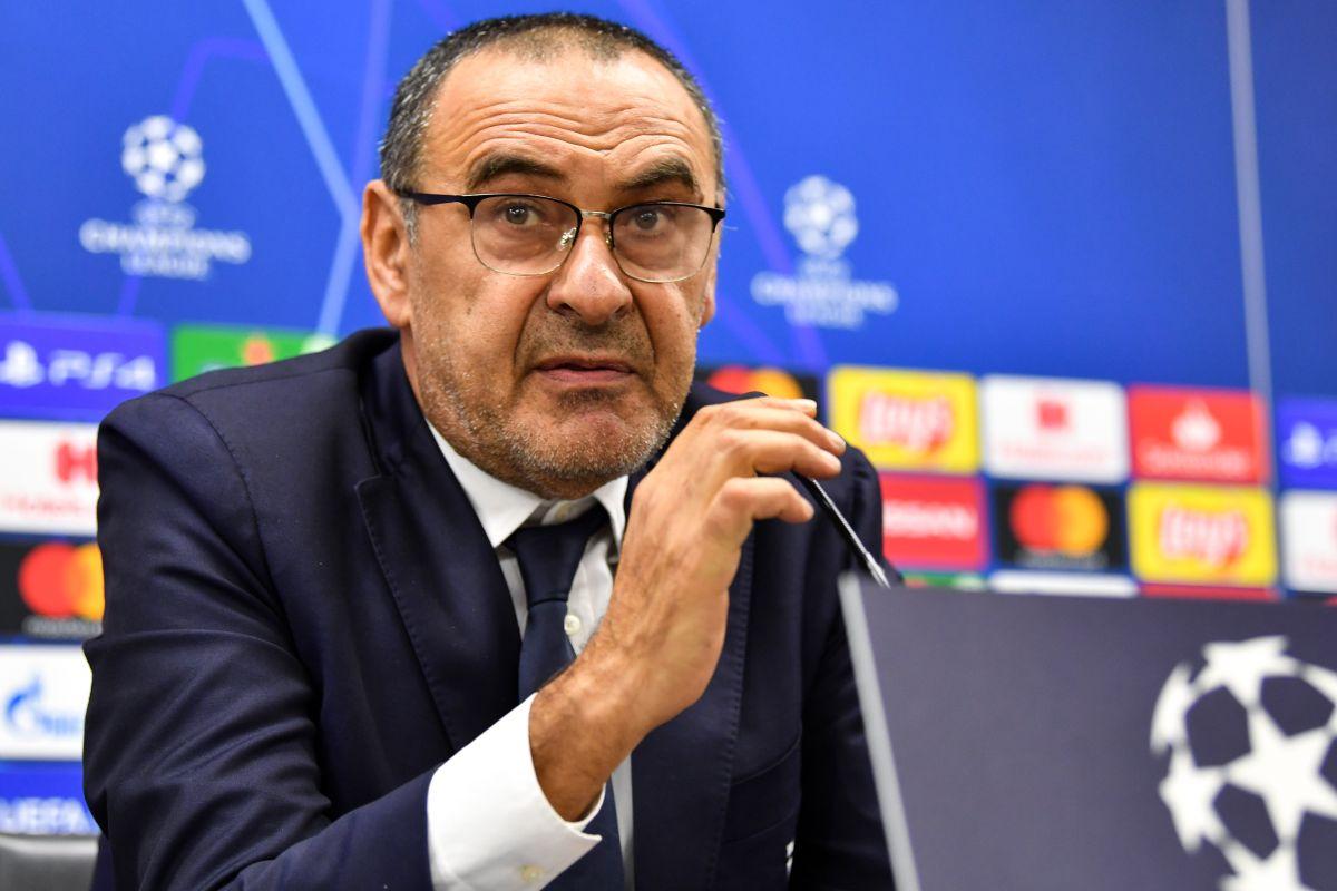 Maurizio Sarri, Juventus, UEFA Champions League, Lokomotiv Moscow