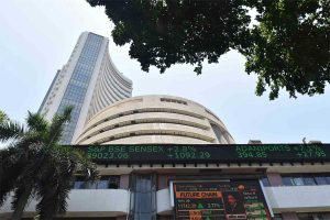 Sensex trades at 325 points, Nifty at 11,927