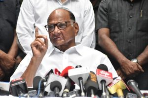 NCP doesn't endorse Ajit Pawar's decision to support BJP: Sharad Pawar