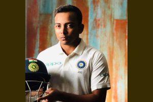 Syed Mushtaq Ali: Prithvi Shaw celebrates return to competitive cricket with dominant half-century