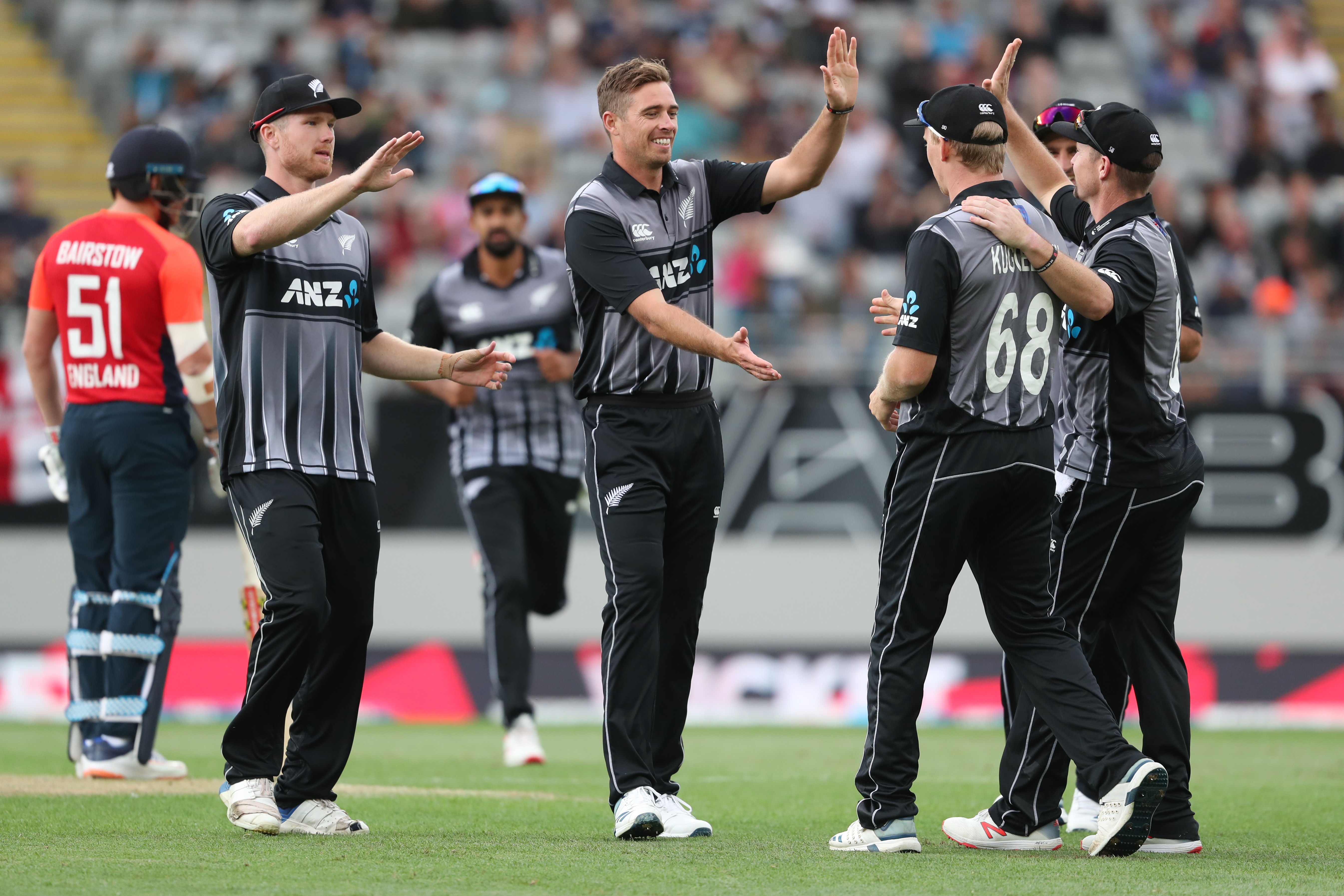 Tim Southee, New Zealand, England