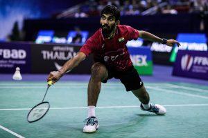 Kidambi Srikanth loses in semis at Hong Kong Open 2019