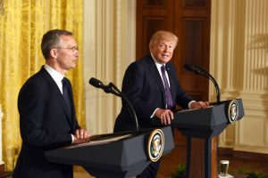Donald Trump to host NATO chief at White House next week as alliance faces strains