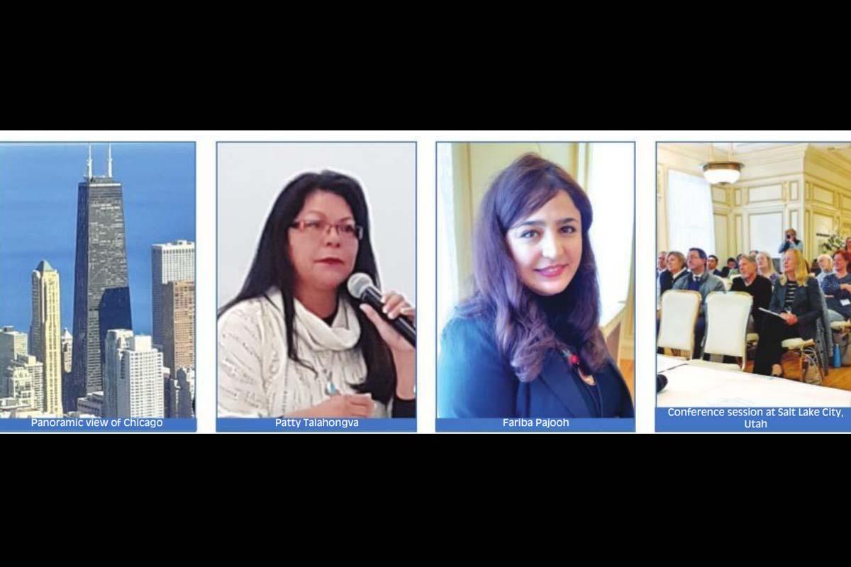 Human dignity, Salt Lake City, Fariba Pajooh, woman journalist, Patty Talahongva, Hopi journalist