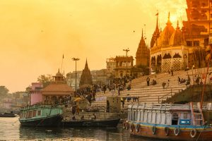 Gods made to wear anti-pollution masks in Varanasi Temples