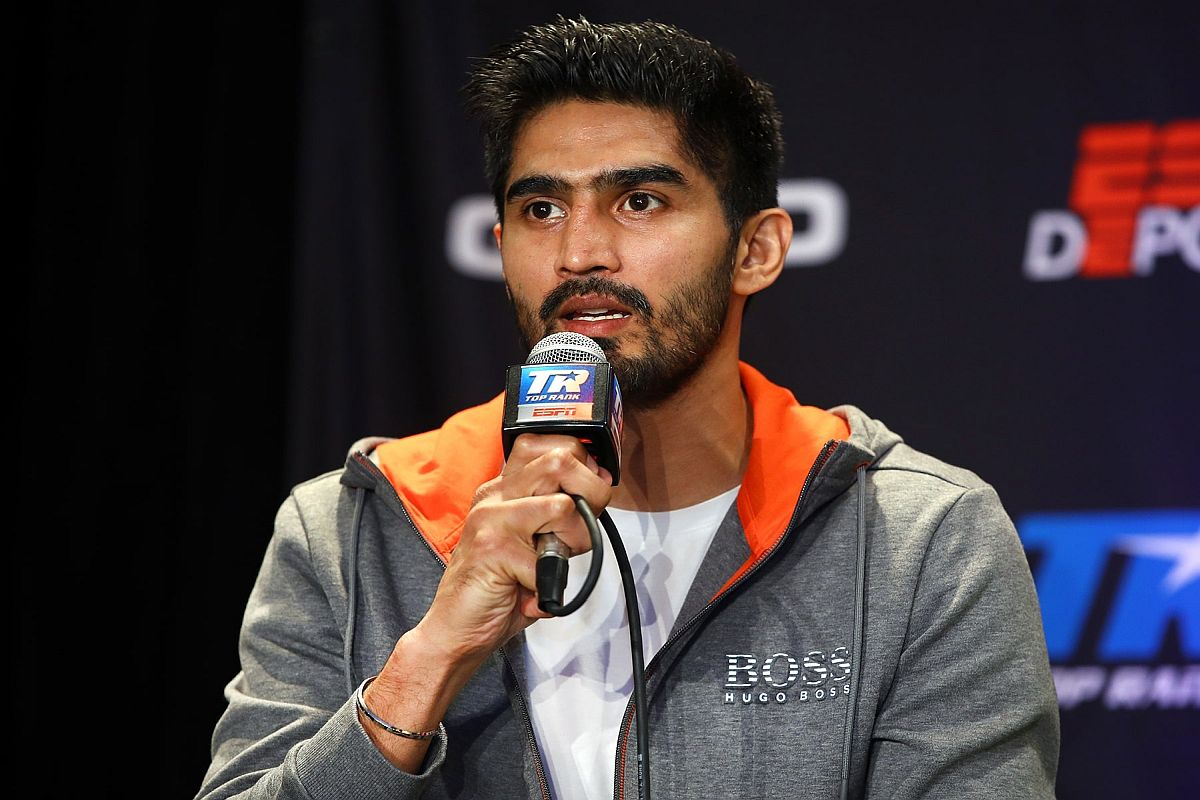 'Win doesn't teach anything in sports, defeat shows real picture': Vijender Singh