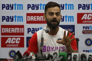 Test won, but 'no days off' for skipper Kohli