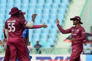 West Indies beat Afghanistan by 5 wickets in 3rd ODI, whitewash series 3-0