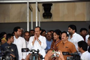 Ajit Pawar not to take oath with Uddhav Thackeray, 2 legislators each of MVA to be sworn in