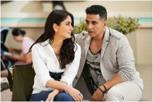 Akshay Kumar shares glimpse from the sets of Good Newwz