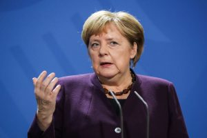 30 years after fall of Berlin Wall, Angela Merkel urges Europe to defend freedom