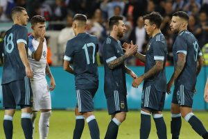 Argentina vs Uruguay: Lionel Messi scores late penalty to deny Luis Suarez & Co victory