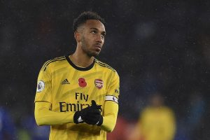 'For now, I'm here,' says Aubameyang amid Barcelona, Inter Milan transfer talks