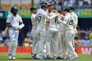 Australia skittle Pakistan to seize control on Day 1 of 1st Test at the Gabba