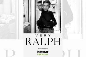 Ralph Lauren feels fashion isn't a frivolous thing