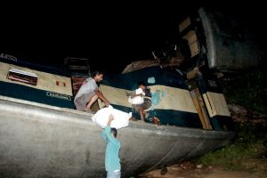 15 dead after two trains collide in Bangladesh, several injured