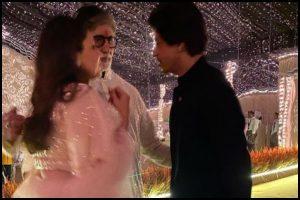 Amitabh Bachchan, SRK and Gauri had a 'personal' chat on Diwali