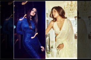 Bhumi Pednekar, Sonakshi Sinha look stunning in sequin pieces; see pics